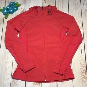 Columbia women's lightweight zip hooded jacket